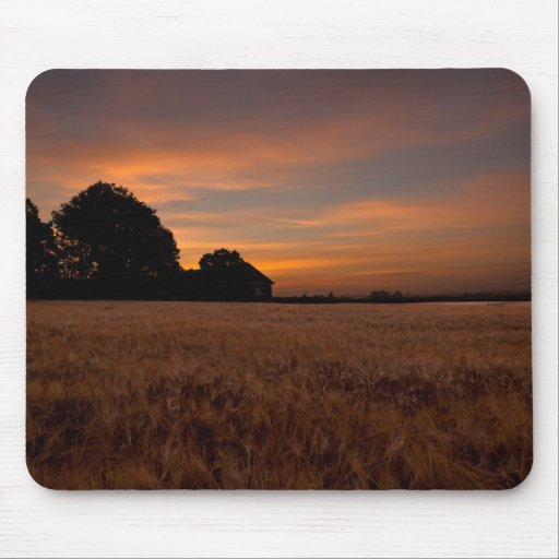 Sunrise in the Country Mouse Pads