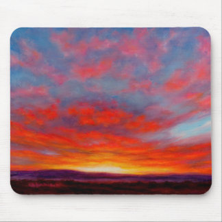 Sunrise in the Mountains of Montana Mousepad