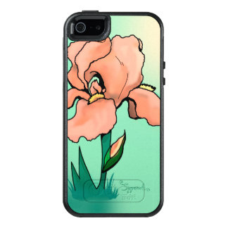 Sunrise Iris Cute Floral OtterBox iPhone 5/5s/SE Case