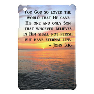 SUNRISE JOHN 3:16 INSPIRING PHOTO CASE FOR THE iPad MINI