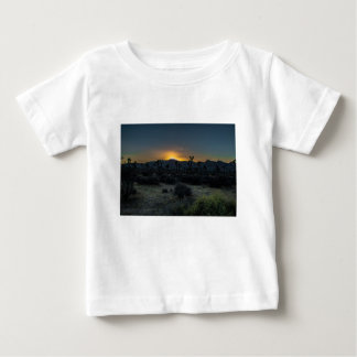 Sunrise Joshua Tree National Park Baby T-Shirt