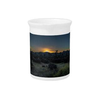 Sunrise Joshua Tree National Park Beverage Pitchers