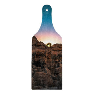 Sunrise Joshua Tree National Park Cutting Board