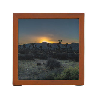 Sunrise Joshua Tree National Park Desk Organiser