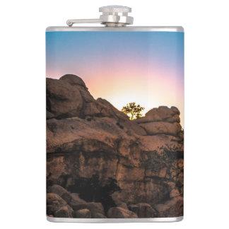 Sunrise Joshua Tree National Park Hip Flask
