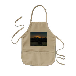 Sunrise Joshua Tree National Park Kids Apron