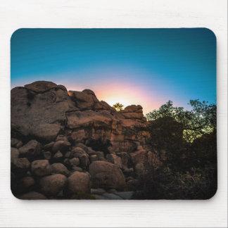Sunrise Joshua Tree National Park Mouse Pad