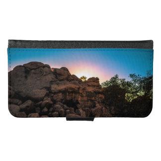Sunrise Joshua Tree National Park Samsung Galaxy S6 Wallet Case