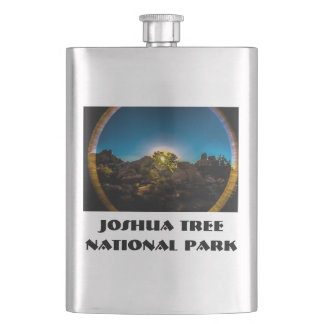 Sunrise Joshua TreeNational Park Hip Flask