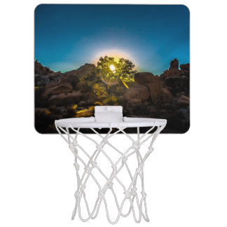 Sunrise Joshua TreeNational Park Mini Basketball Hoop