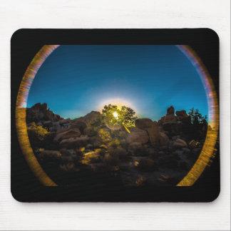 Sunrise Joshua TreeNational Park Mouse Pad