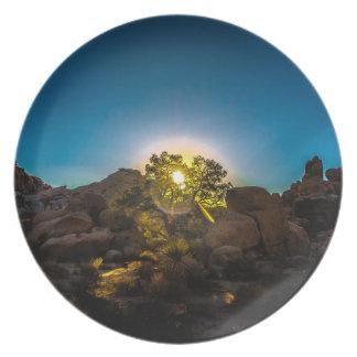 Sunrise Joshua TreeNational Park Party Plates
