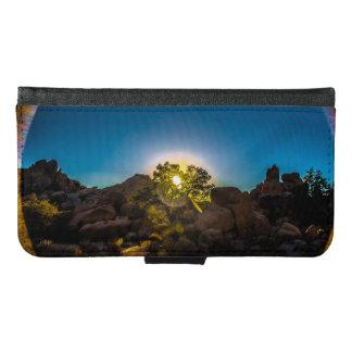 Sunrise Joshua TreeNational Park Samsung Galaxy S6 Wallet Case