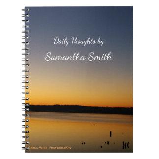 Sunrise Lake Notebook