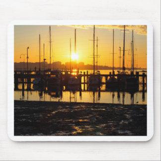 Sunrise Marina Mouse Pad