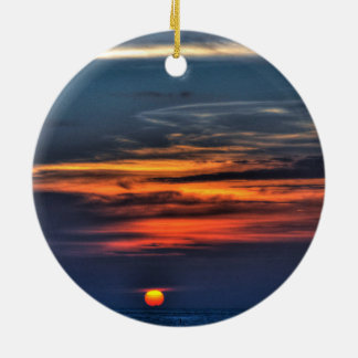 Sunrise,Melbourne,Florida Ceramic Ornament