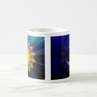 Sunrise, Midnight Double Sided Coffee Mug