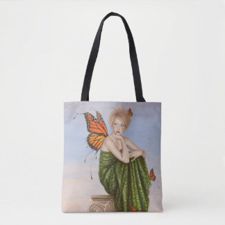 Sunrise Monarch Butterfly Fairy Tote Bag