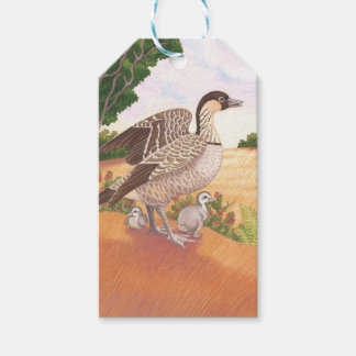 Sunrise Nene (Hawaiian Goose) Gift Tags