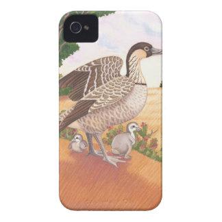 Sunrise Nene (Hawaiian Goose) iPhone 4 Cover