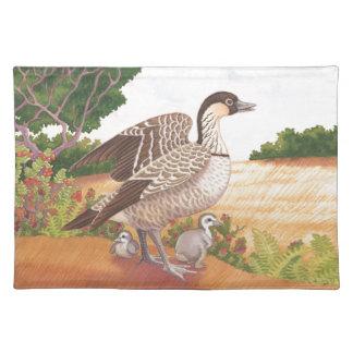 Sunrise Nene (Hawaiian Goose) Placemat