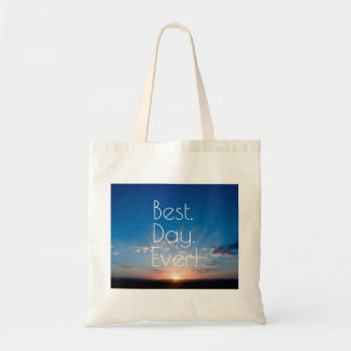 Sunrise New Day Dawning Tote Bag