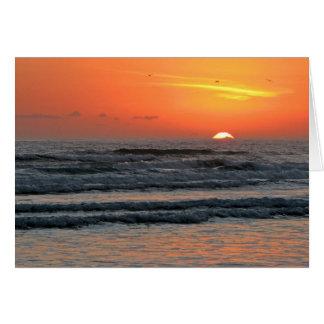 Sunrise - New Year's Day 2011 Card
