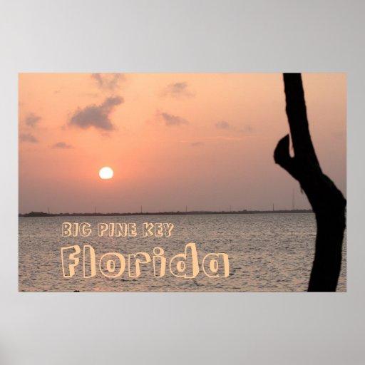 Sunrise on Big Pine Key Print, Version B