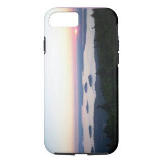 Sunrise on Cadillac Mountain iPhone 7 case