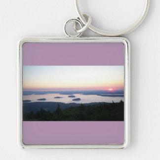 Sunrise on Cadillac Mountain Key Chain