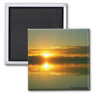 Sunrise on Lake Yellowstone Magnet
