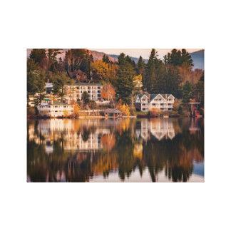Sunrise on Mirror Lake Canvas Print