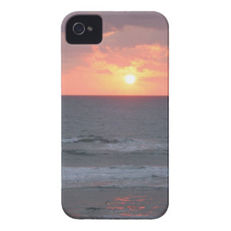 Sunrise on the Beach iPhone case