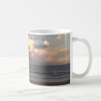 Sunrise on the beach Mug