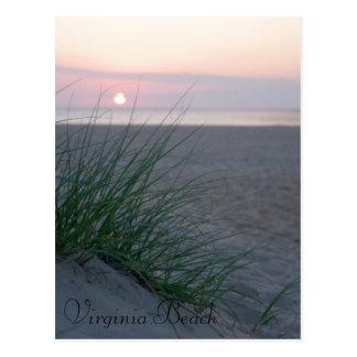 Sunrise on The Beach Postcard