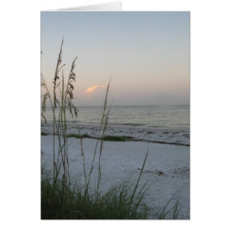 Sunrise on the Gulf Note Card