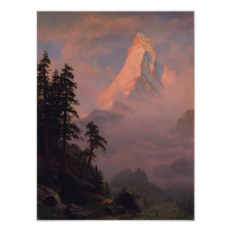 Sunrise on the Matterhorn Poster