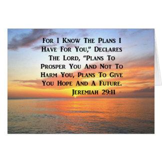 SUNRISE ON THE OCEAN PHILIPPIANS 4:13 SCRIPTURE CARD