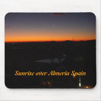 Sunrise over Almeria Spain Mouse Pad