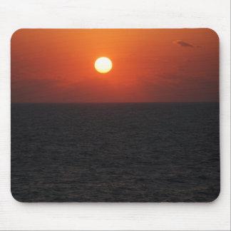 sunrise over atlantic ocean mousepad