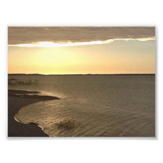 Sunrise over Bogue Sound Photo Print