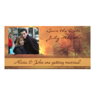 Sunrise Over Diamond Head Save the Date Photocard Card