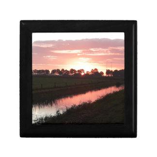 Sunrise Over Farmland Gift Box