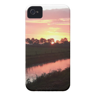 Sunrise Over Farmland iPhone 4 Case-Mate Cases