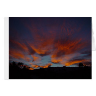 Sunrise Over Haleakala Card