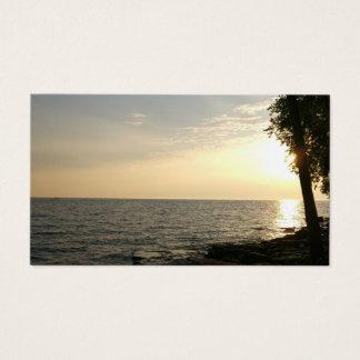 Sunrise Over Lake Erie Business Card
