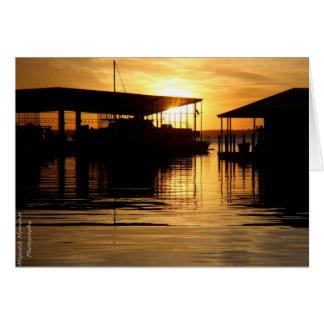 Sunrise over Lake Ray Hubbard Card
