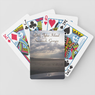 Sunrise Over Little Tybee Island, Savannah, GA Playing Cards
