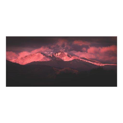 Sunrise Over Longs Peak, Colorado Photographic Print