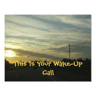 "Sunrise Over North Carolina 4.25"" X 5.5"" Invitation Card"
